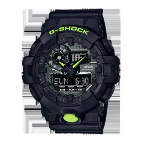 卡西欧手表 G-SHOCK 【新品】硬碰硬主题表款   防水防震功能表款GA-700DC-1APR