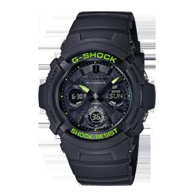 卡西欧手表 G-SHOCK 【新品】硬碰硬主题表款 防水防震功能表款AWG-M100SDC-1APR