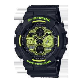 卡西欧手表 G-SHOCK 【新品】硬碰硬主题表款 防水防震功能表款GA-140DC-1APR