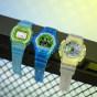 卡西欧手表 G-SHOCK  【新品】冰电之韧主题系列 透明表款  特殊表盒设计 防水防震运动男表DW-5600LS-2&DW-6900LS-2
