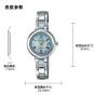 卡西欧手表 SHEEN  中国区限定 人造蓝宝石玻璃镜面 太阳能动力 施华洛世奇仿水晶点缀 小表盘优雅女表SHS-4523