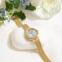 卡西欧手表 SHEEN  人造蓝宝石玻璃镜面 太阳能动力 防水简约女表SHS-D300