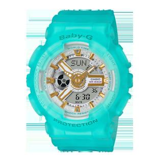 卡西欧手表 BABY-G BABY-G X B.Duck合作款 防水防震运动女表BA-110SC