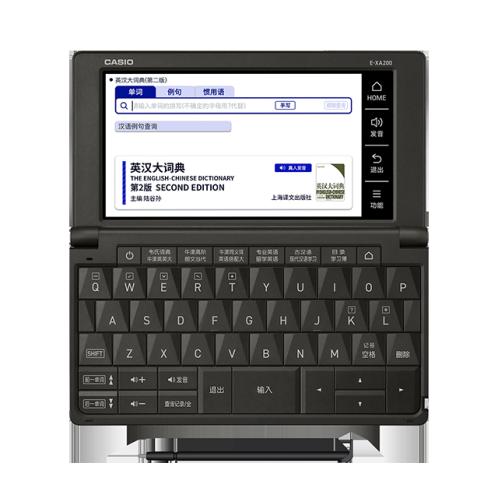 卡西欧电子教育 留学英汉  英汉辞典 留学 雪瓷白/水墨黑/冰海蓝E-XA200