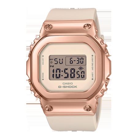 卡西欧手表 G-SHOCK G-SHOCK 女性系列【明星同款】 防水防震运动女表GM-S5600