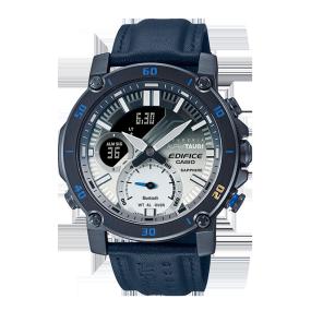 卡西欧手表 EDIFICE 【新品】Scuderia Alpha Tauri合作款 人造蓝宝石玻璃镜面蓝牙连接功能男表ECB-20AT-2APR