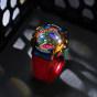 卡西欧手表 G-SHOCK  彩虹配色金属表壳110表款 防水防震防磁运动男表GM-110RB-2APR