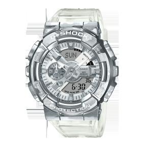 卡西欧手表 G-SHOCK 【新品】迷彩金属透明主题系列  防水防震运动表款GM-110SCM-1APRT