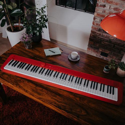 卡西欧电子乐器 电钢琴  纤薄时尚智能个性电钢琴 三角钢琴音效便携电钢琴 (含琴架+三踏板)PX-S1000
