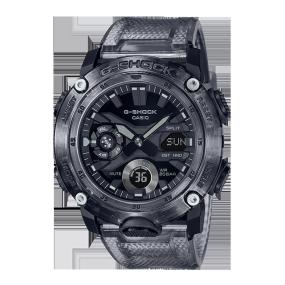 """卡西欧手表 G-SHOCK 新""""冰韧""""灰色系列  防水防震运动表款GA-2000SKE-8APR"""