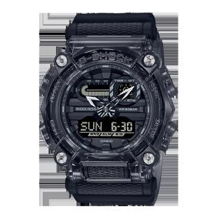 """卡西欧手表 G-SHOCK 新""""冰韧""""灰色系列  防水防震运动表款GA-900SKE-8APR"""