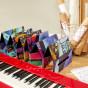 卡西欧电子乐器 电钢琴  【新品】卡西欧×黑荔枝 琴罩联名套装PX-S1000