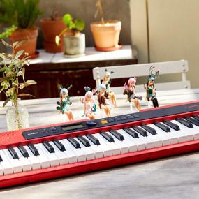 卡西欧电子乐器 电子琴 卡西欧×黑荔枝 盲盒套装CT-S200