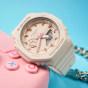 卡西欧手表 G-SHOCK  女性系列 时尚个性 八角形表盘设计 防水防震运动表款GMA-S2100