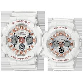 卡西欧手表 对表系列 2020年圣诞限定对表  特殊包装特殊背刻防水防震运动表款LOV-20A-7APR