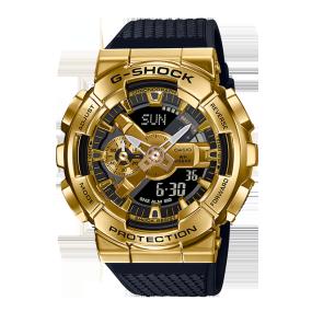 卡西欧手表 G-SHOCK 金属表壳 防水防震防磁运动男表GM-110G-1A9PR