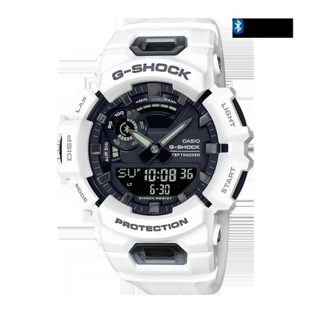 卡西欧手表 G-SHOCK 工业主题风格主题  防水防震蓝牙连接运动表款GBA-900