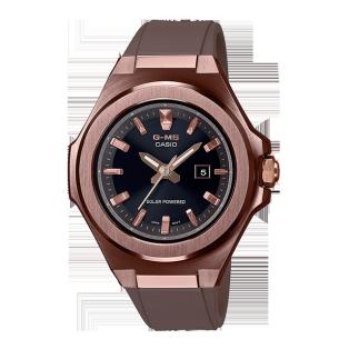 卡西欧手表 BABY-G G-MS系列  轻薄简约设计 防震防水运动女表MSG-S500G