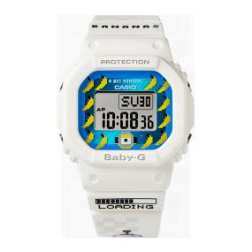 卡西欧手表 BABY-G 【新品】BABY-G|MINIONS合作款 特殊礼盒 复古潮流设计 防水防震运动表款BGD-501MON21-7PRM