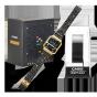 卡西欧手表 小金表  VINTAGE 复古表款 经典吃豆人设计元素 特殊背刻与包装 LED照明表款A100WEPC-1BPR