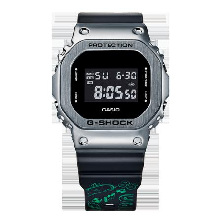 卡西欧手表 G-SHOCK 【新品】王一博合作款  反显设计 金属质感 防水防震运动男表GM-5600-1PRWYB
