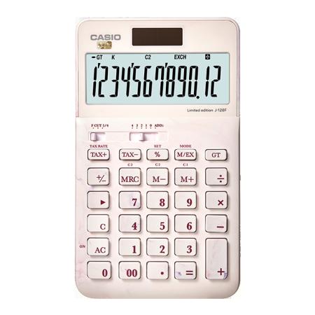 卡西欧计算器 日常商务 【新品】摩登时尚 商务办公计算器J-120F