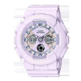 卡西欧手表 BABY-G 【新品】冰淇淋色主题系列  防水防震运动女表BA-130WP
