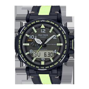 """卡西欧手表 PRO TREK """"洞穴探险""""为主题 设计灵感来自黑暗洞穴中的阳光 太阳能动力 防水运动户外男表PRG-650YL-3PR/PRG-600YB-1PR"""